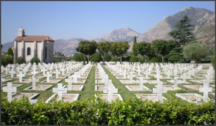French cemetery at Venafro