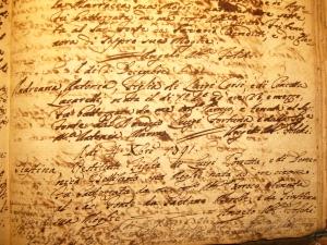Baptism A.A. Corsi 2.12.1791