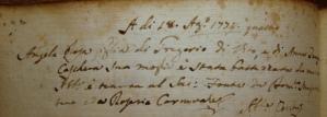 Bap. Angela DiVito 18.8.1774