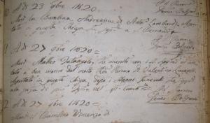 Death Matteo Tatangelo 1820